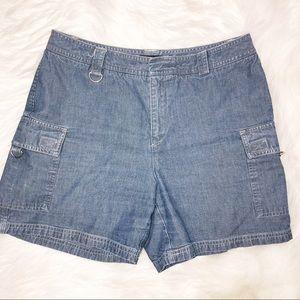 Dockers jean shorts size 10